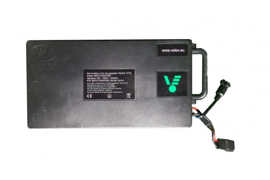 Battery 60V / 20Ah replaceable