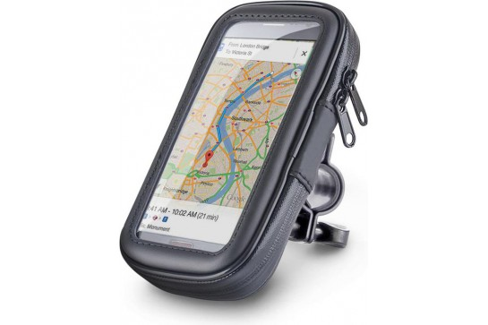Cover with scooter phone holder