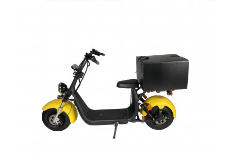 Electric scooter with VELEX homologation eGreen model