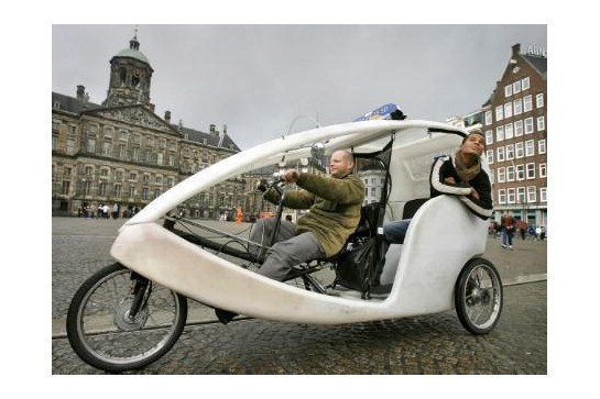 Vehicle type rickshaw  VELEX trike TAXI